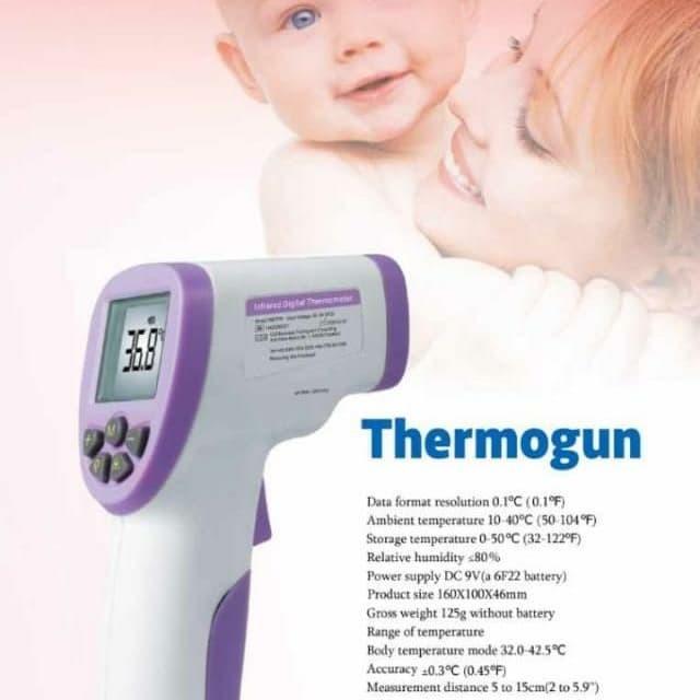 Foto Produk Thermometer infrared / Thermometer gun Luna ijin Resmi BNPB dari enterphone2