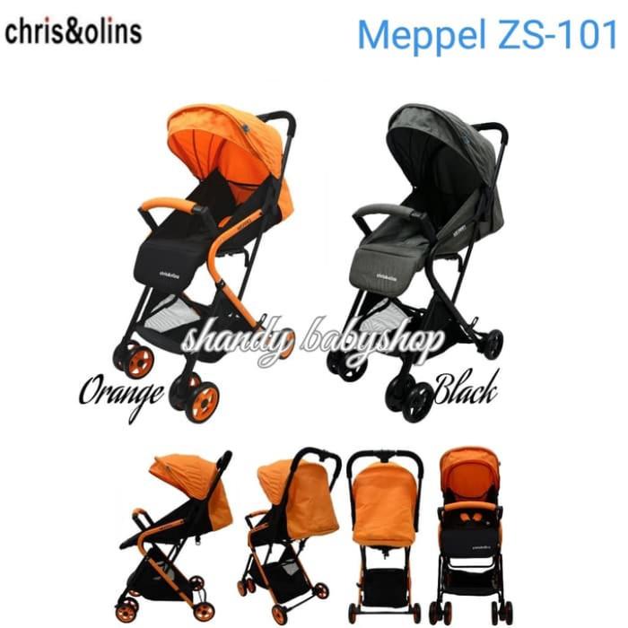 Jual Stroller Chris Olins Meppel Zs 101 Kereta Dorong Bayi Jakarta Pusat Indira Babyshop Tokopedia