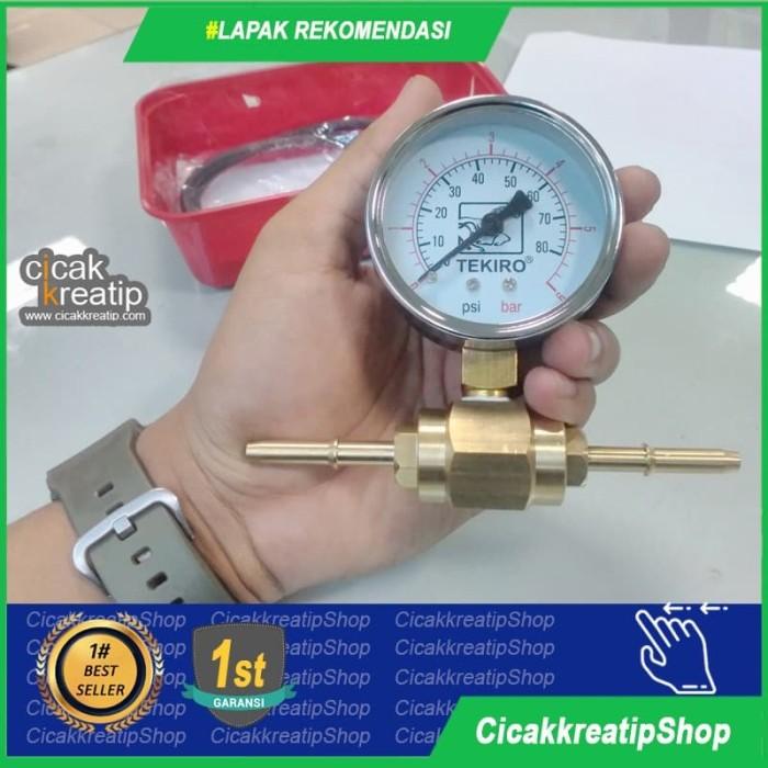 Foto Produk Alat Ukur Tekanan Pompa Motor Injeksi Semua Motor dari cicakkreatipshop