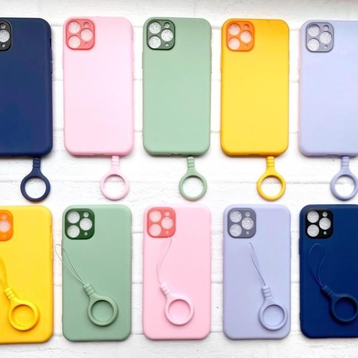 Foto Produk silicone soft case pastel ring kamera protection Iphone 11 pro max dari AnCia