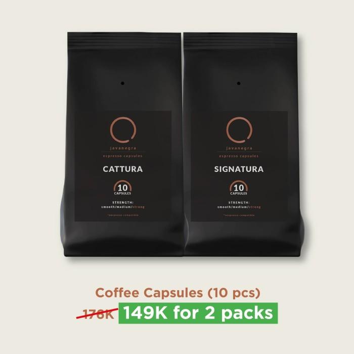 Foto Produk 2 Packs Coffee Capsules dari Javanegra Coffee