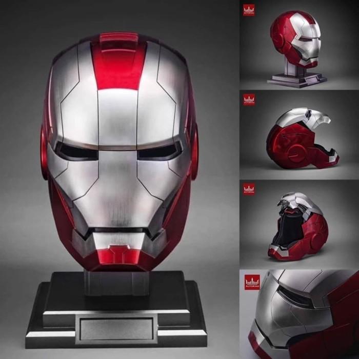 Jual 1 1 Scale Auto King Iron Man Mark V 5 Life Size Helmet Helm Remote Po Jakarta Timur Wenwen Shop Tokopedia