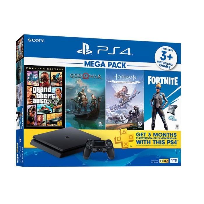 Foto Produk Sony Playstation PS4 Slim 1TB HITS Bundle Garansi RESMI INDONESIA dari mastah store