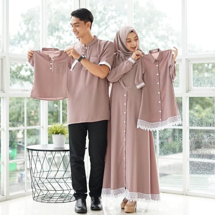 Jual Sarimbit Lebaran Baju Couple Keluarga Adna 2020 Kab Semarang Ekalistyastore Tokopedia