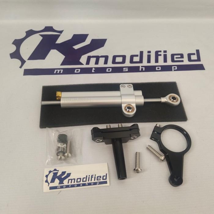 Foto Produk Steering Damper Stabilizer Stang All New R15 VVA V3 Lengkap Bracket dari KY Modified