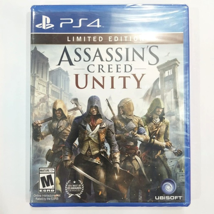 Jual Assassins Assassin S Creed Unity Ps4 Kota Tangerang