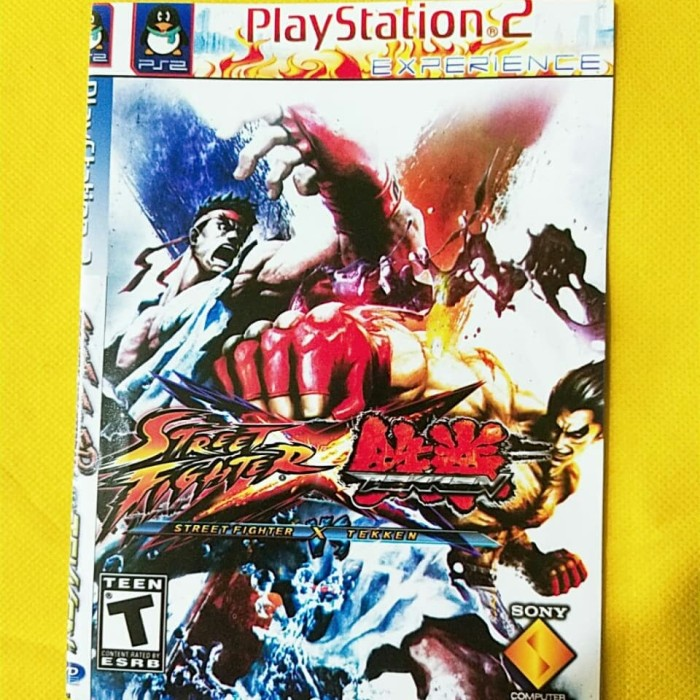 Jual Kaset Ps2 Game Street Fighter Playstation 2 Game Terlaris