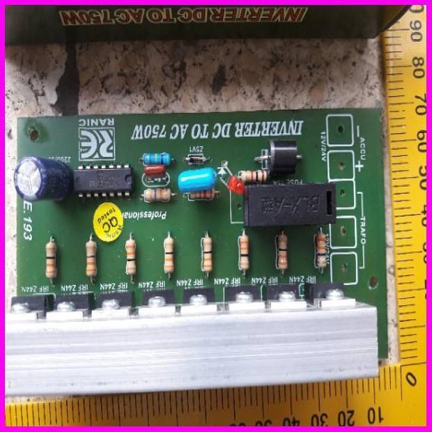 Foto Produk Kit Inverter Dc To Ac 750 Watt Pengubah Arus Listrik Dv Ke Ac dari kridacendikia