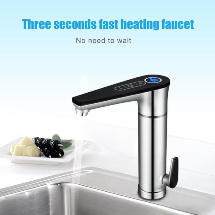 Jual Terlaris 3000w Electric Water Heater Tankless Water Faucet Hot Kab Banyumas Annabell A Tokopedia