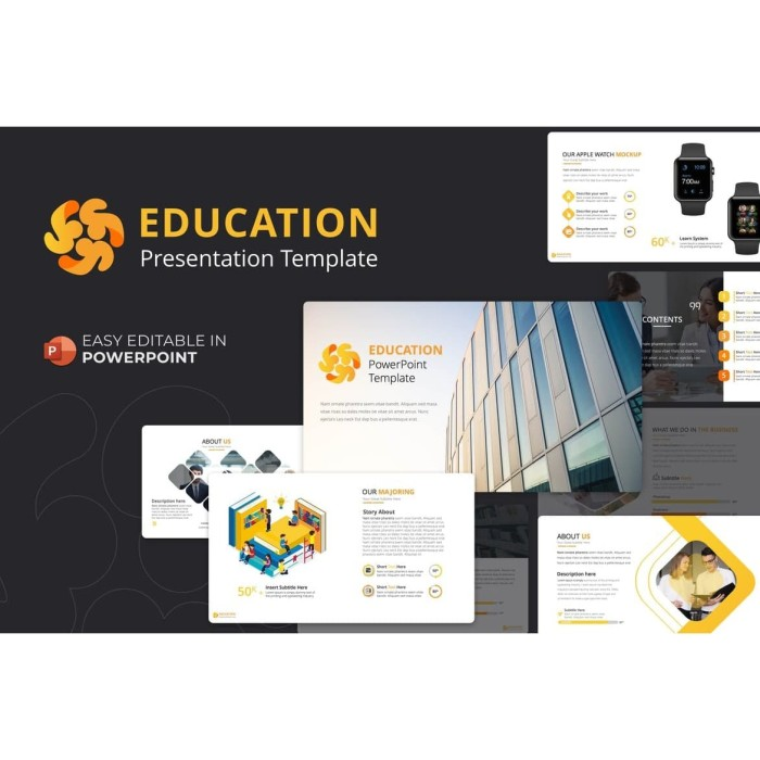 Jual Educations Powerpoint Templates Kab Bandung Kineka Tokopedia