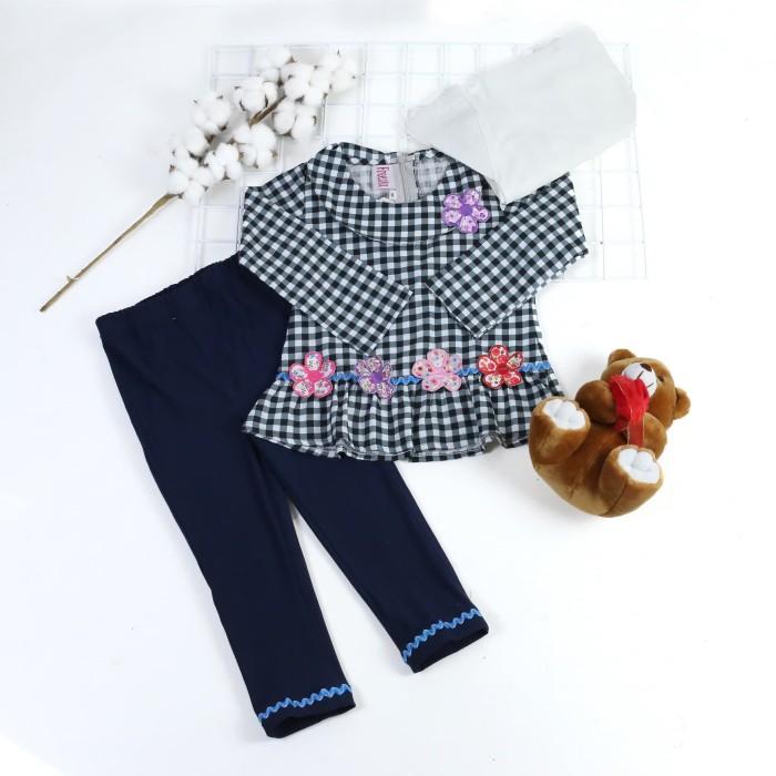 Foto Produk Baju setelen muslim anak usia 1-3 tahun dari na-muslimahkecil