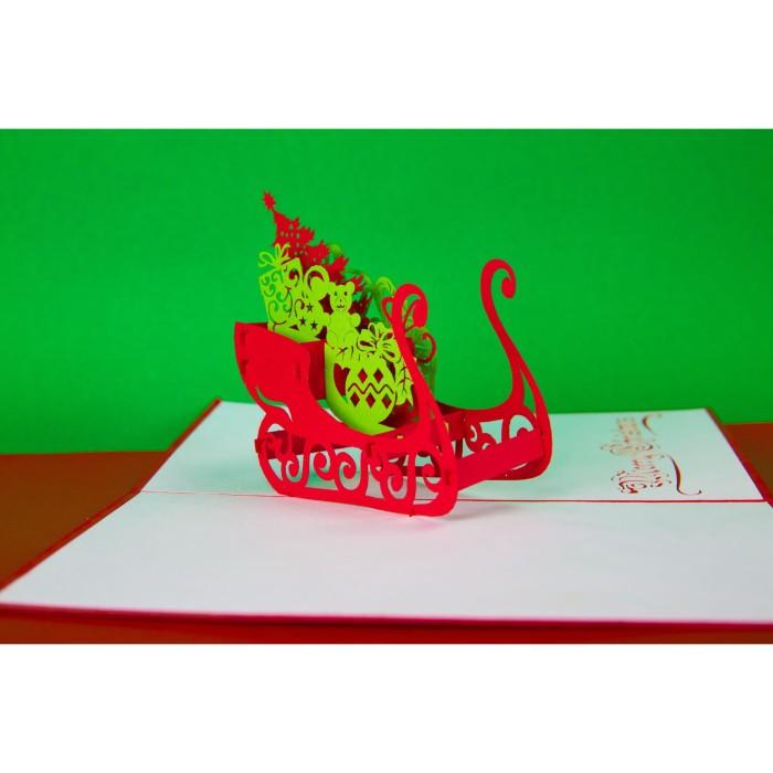 Jual Christmas Present 3d Gift Card Haiku Kartu Ucapan Natal Jakarta Barat Haiku Card Tokopedia