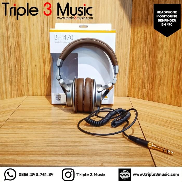 Foto Produk Behringer BH470 BH 470 ORIGINAL Headphone Monitor DJ atau studio dari triple3music