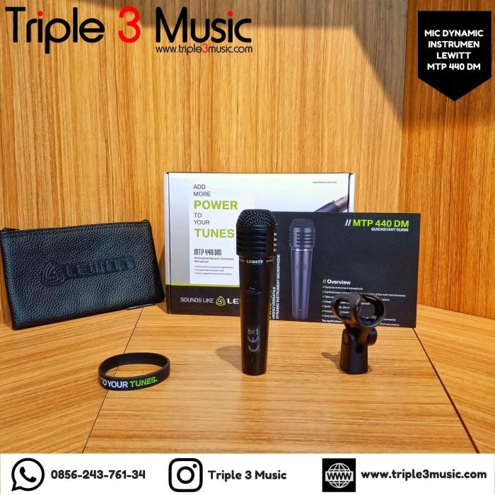 Foto Produk Lewitt MTP 440 DM MTP440 DM ORIGINAL Mic dynamic Instrument vokal dari triple3music