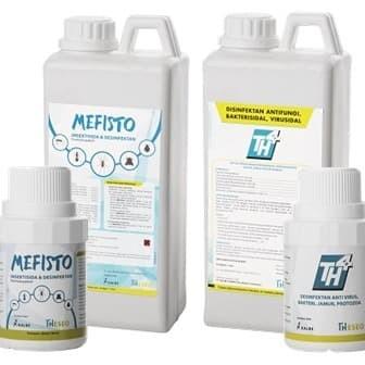 Foto Produk TH4 disinfektan corona korona virus. tersedia 1 liter dan 25 liter dari Simple Store