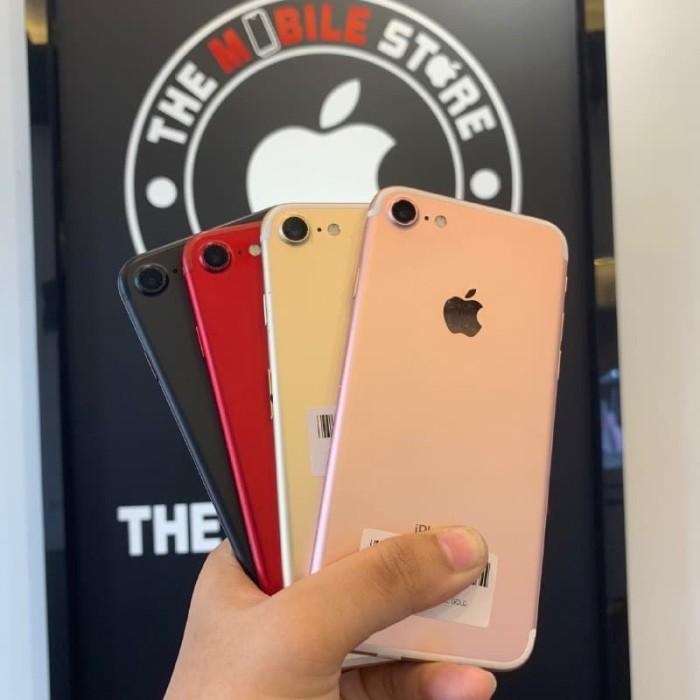 Foto Produk iPhone 7 128GB Second Original Fullset Mulus Bergaransi - blackmatte dari The Mobile Store