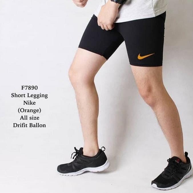Jual Best Seller Celana Pendek Pria Legging Sport Gym Lari Senam Jakarta Barat Abang Putih Shopp 03 Tokopedia