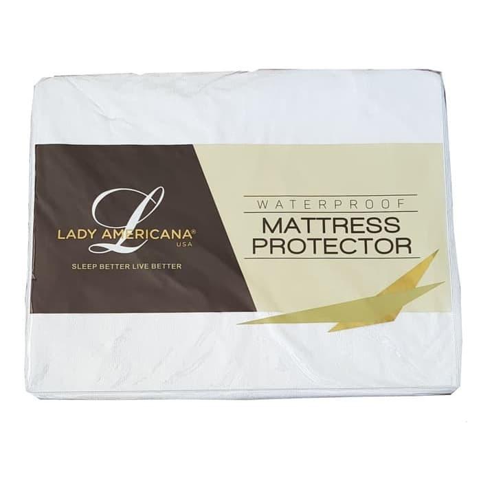 Foto Produk Mattress Protector Waterproof LADY AMERICANA 160 x200 Pelindung Matras dari Metropolitan Furnitures