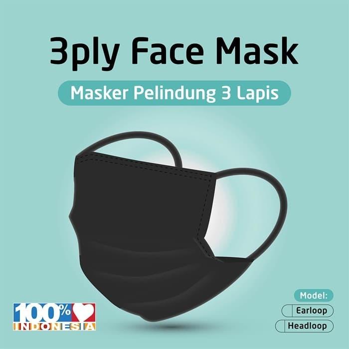 Foto Produk Masker Kain 3 Lapis Anti Virus - EARLOOP dari KOINONIA
