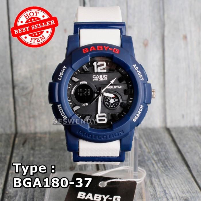 Foto Produk Jam tangan Wanita & anak Baby-G Shock BGA-180 Putih navy biru dongker dari sfswendy