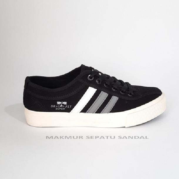 Foto Produk Sepatu Capung - Dragonfly Falcon Black - Hitam dari Makmur Sepatu Sandal