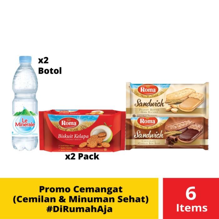Foto Produk Promo Cemangat (Cemilan & Minuman Sehat) #DiRumahAja dari Mayora Official Store