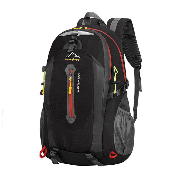 Foto Produk Freeknight Tas Pria Ransel Travel Punggung Backpack Anti Air TR110 - Hitam dari Freeknight