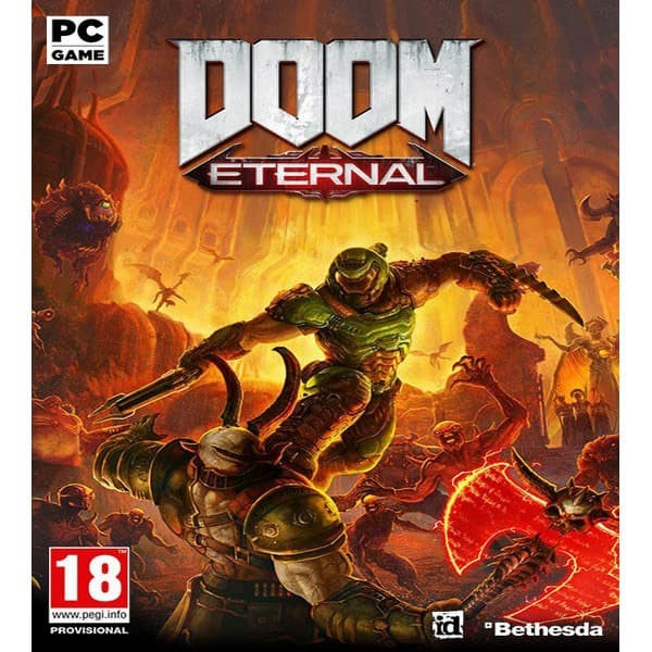 Foto Produk Doom Eternal PC game Original Bethesda non steam dari Charu Toys