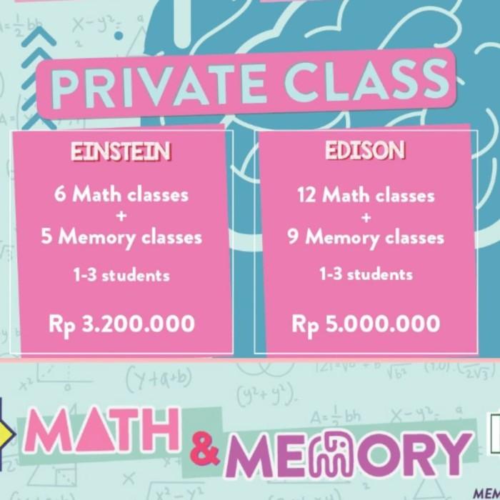 Foto Produk Private Math & Memory Edison Pack dari IDN Intelektual Akademi