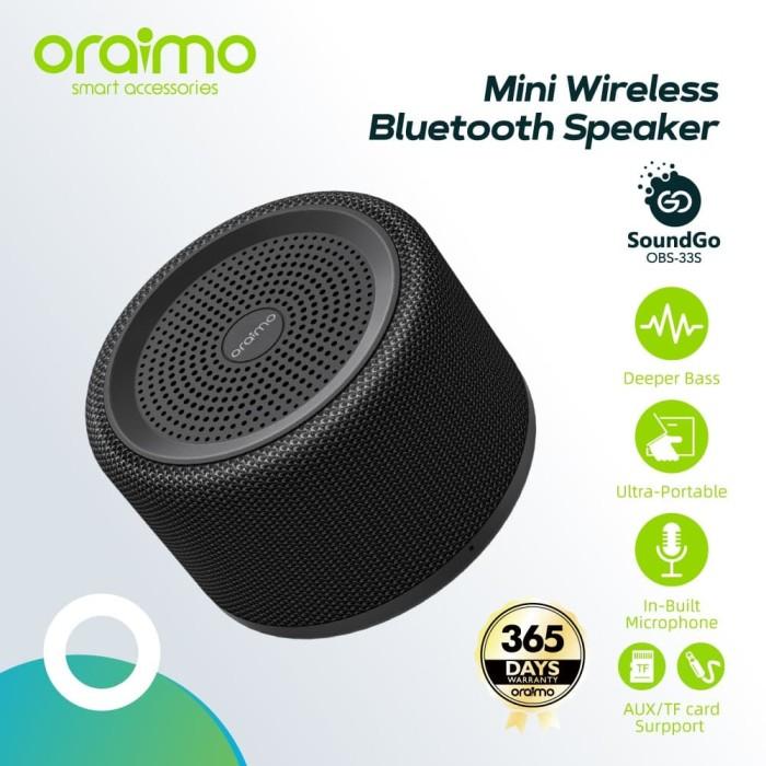 Foto Produk Oraimo SoundGo Blutooth Speaker OBS-33S dari Oraimo_indonesia