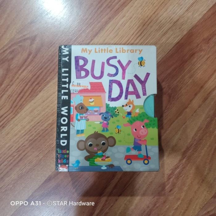 "Foto Produk Buku Book ""My LIttle Library-Busy Day"" BBW (Big Bad Wolf) Pack Of 4 dari STAR Hardware Store"