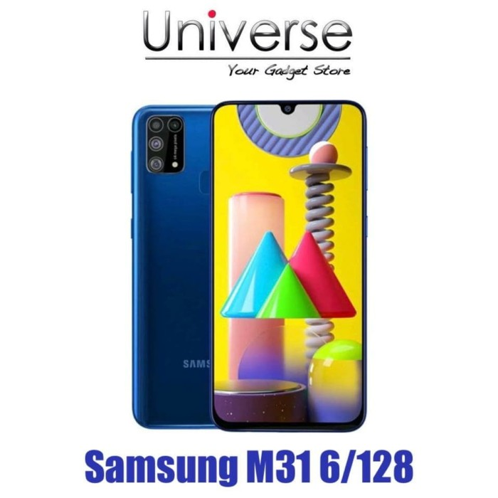 Foto Produk Samsung Galaxy M31 6/128 GB - Garansi Resmi Samsung Indonesia (SEIN) - Hitam dari Universe Store
