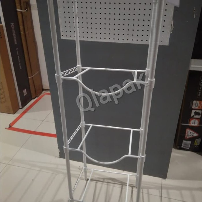 Foto Produk Rak galon 4 susun - Putih dari Qlapak