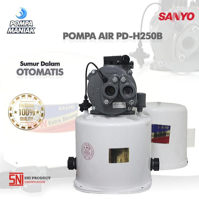 Jual Pompa Air SANYO PD-H250B Sumur Dangkal Otomatis 250 ...
