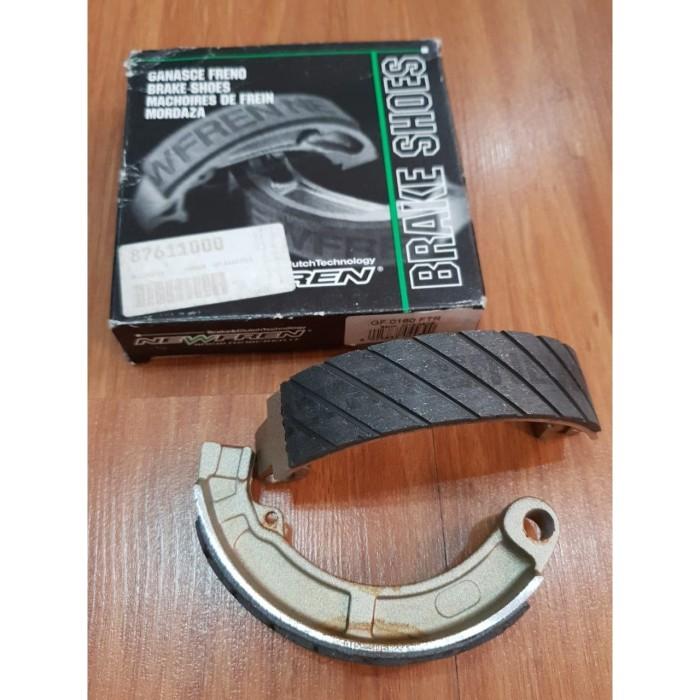 Foto Produk Newfren Antiaqua Rear Brake Shoe Vespa Super,PS150,Strada dari Gaya Motor Baru