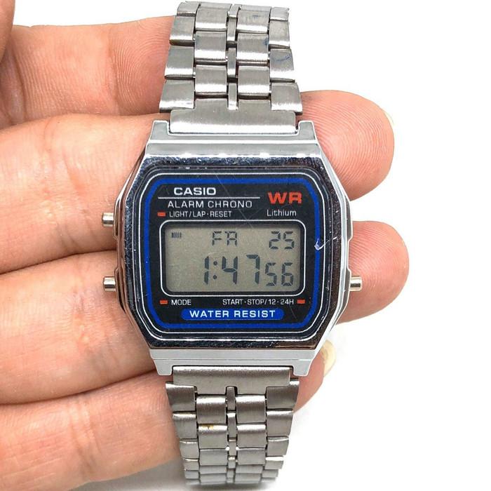 Foto Produk Jam Tangan CASI0 Fashionable/ Jam Tangan Murah Korea Unisex - Silver dari EMPEROR ONLINE SHOP