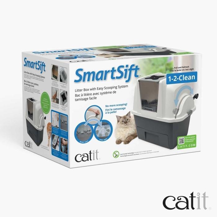 Foto Produk Catit Sifting Cat Pan Toilet Kucing Litter Box Smart Otomatis Clean dari Hime petshop