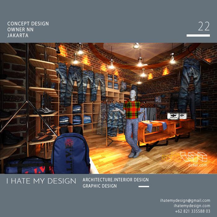 Jual Jasa Interior Design Jasa 3d Rendering Retail Shop Toko Estalase Kota Tangerang Selatan Asia Led Tokopedia