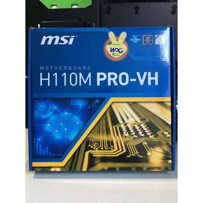 Foto Produk BOX Motherboard MSI H10M PRO-VH dari Q-Q Gadget Store