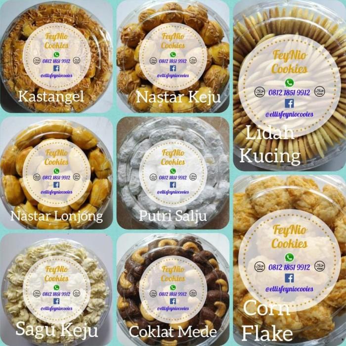 Jual Special Kastangel Dan Varian Favorit Kue Kering Lebaran Feynio Jakarta Selatan Sumandjayareksa Tokopedia