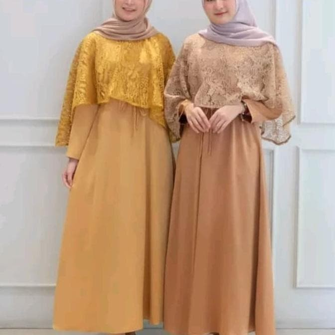 Jual Hot Sale Baju Gamis Brokat Baju Gamis Terbaru 2020 Orange All Size Jakarta Barat Susanti76 Tokopedia