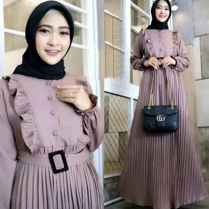 Jual Hot Sale Khenca Dress Baju Gamis Remaja Terbaru 2020 Best Seller Jakarta Barat Susanti76 Tokopedia