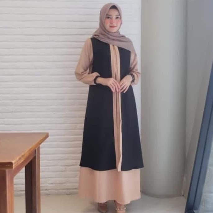 Jual Hot Sale Gamis Terbaru 2020 Remaja Simple Elegan Sabyan Wolfis Pink Jakarta Barat Susanti76 Tokopedia