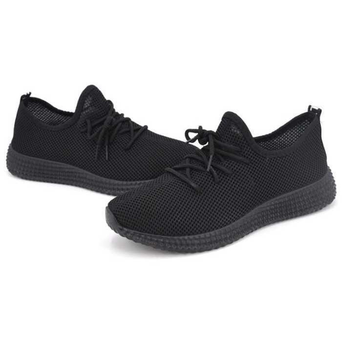 Foto Produk Sepatu Mesh Pria Sport Yezi Boost Size 39 - Black dari ellen olshop