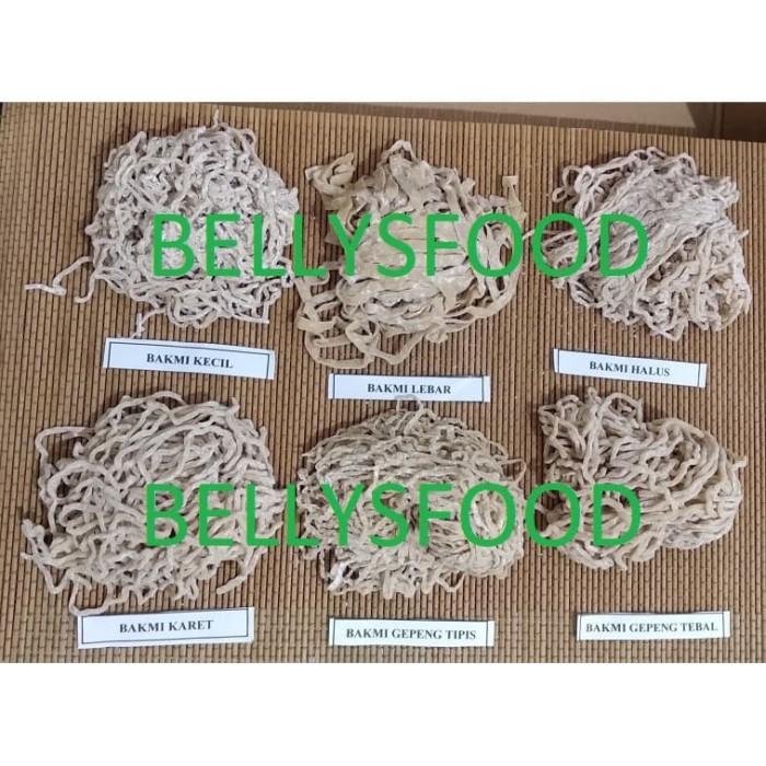 Foto Produk BAKMI MENTAH TELUR BEBEK MIE MENTAH KERITING SPECIAL PER KG ENAK SEHAT dari BELLYSFOOD