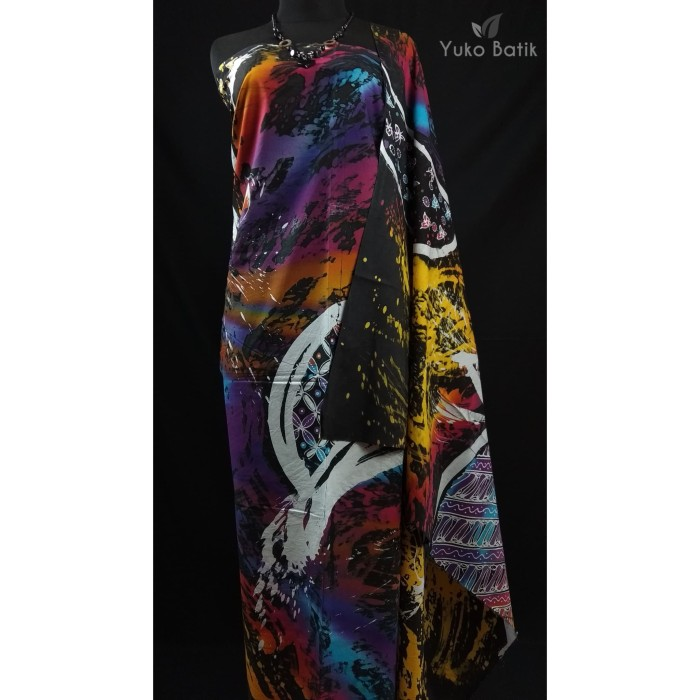 Foto Produk Kain Batik Tulis Full Motif Abstrak Kontemporer Selangit dari yuko batik
