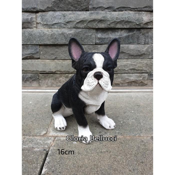 Jual Patung Pajangan Anjing French Bulldog Miniatur Buldog Prancis Jakarta Utara Gloria Bellucci Tokopedia