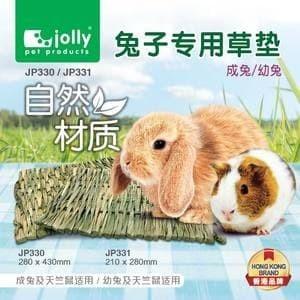 Foto Produk JP330 Jolly Hay Mat Large Rabbit Guinea Pig Alas Rumput Marmut Kelinci dari Hime petshop