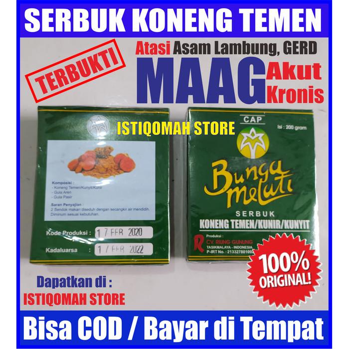 Foto Produk Serbuk Kunyit Bunga Melati Obat Maag Asam Lambung GERD, Jamu Ulu Hati dari Istiqomah-Store