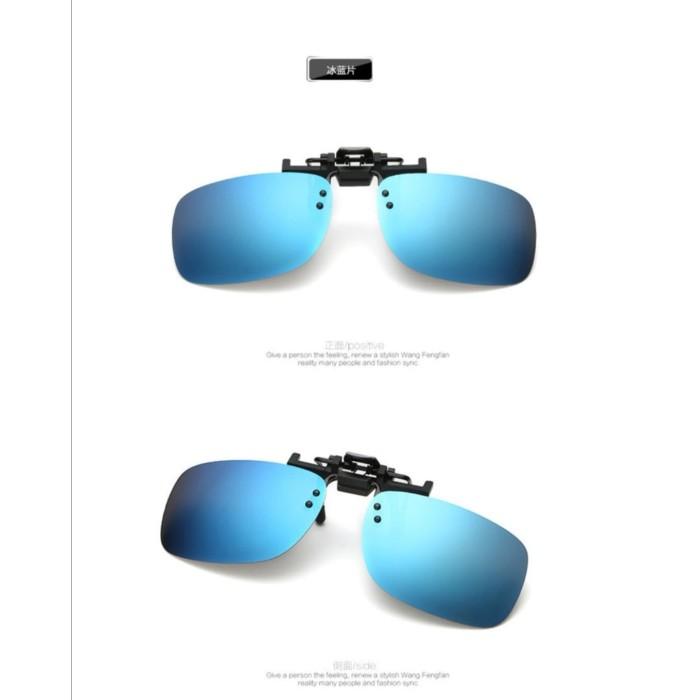 Foto Produk SUNGLASSES POLARIZED BLUE CLIP ON KACAMATA KLIP ANTI UV LENSA BIRU dari Bro & Sis Jakarta